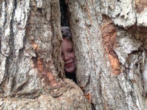 Isaiah in tree